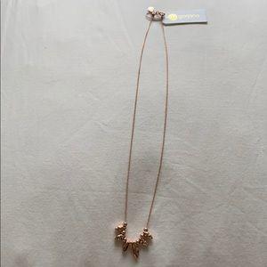 Rosegold adjustable necklace